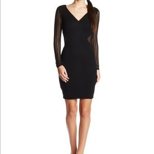 French Connection black bodycon dress